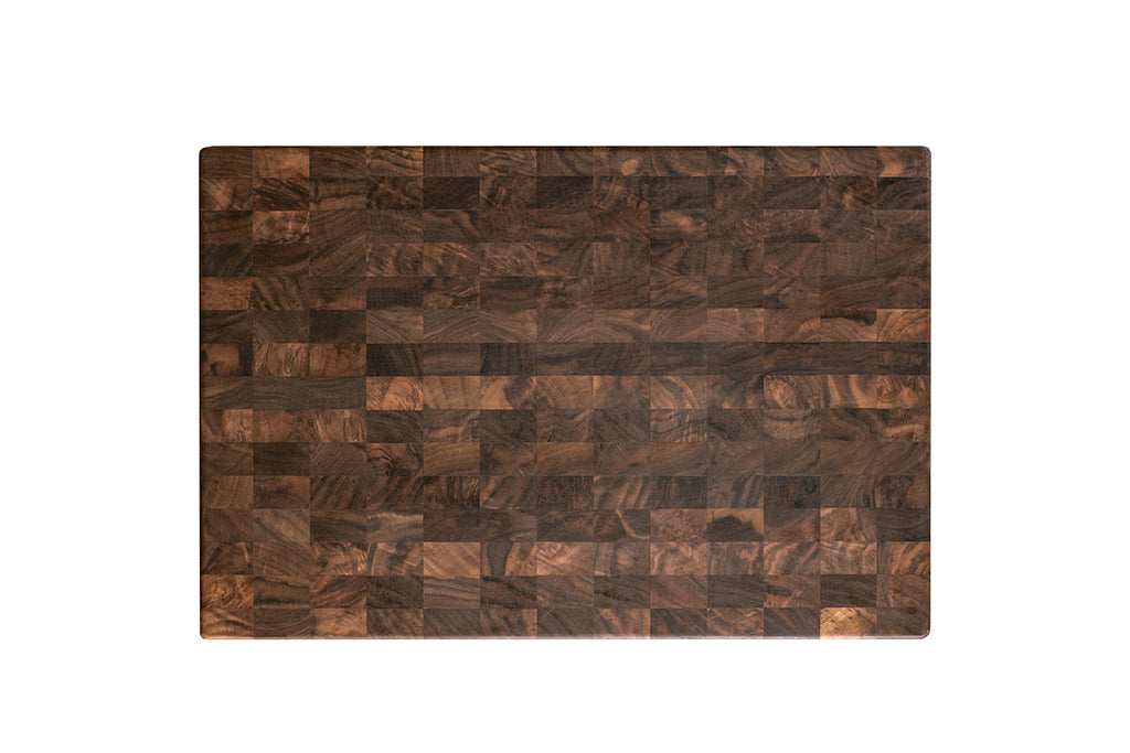 custom end grain cutting board
