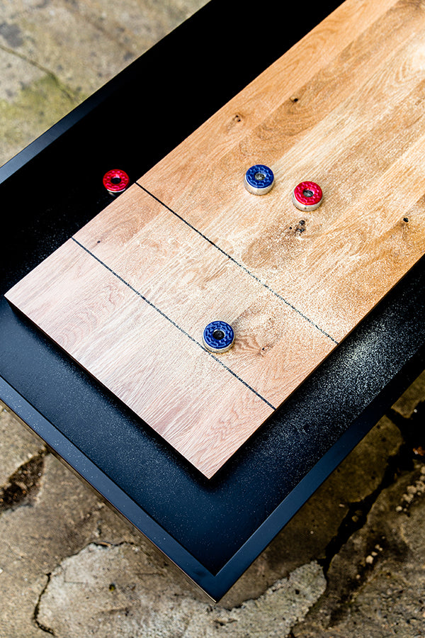 oak shuffleboard table Canada