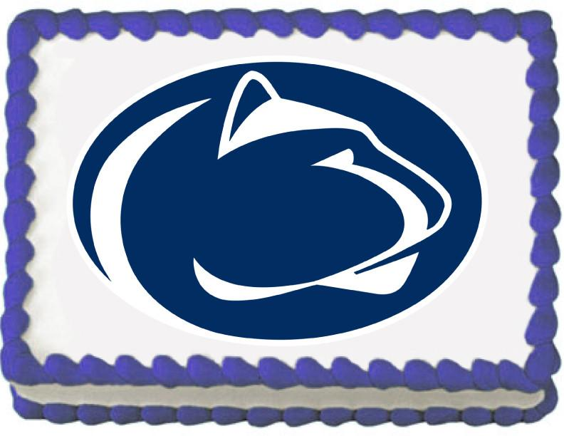 Penn State Nittany Lions Edible Cake, Cupcake & Cookie Topper - Trish Gayle