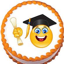 Load image into Gallery viewer, Happy Graduate Edible Cake, Cupcake & Cookie Topper - Trish Gayle