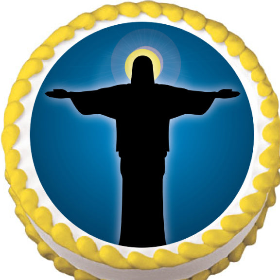 Jesus Christ Edible Cake, Cupcake & Cookie Topper - Trish Gayle