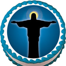 Load image into Gallery viewer, Jesus Christ Edible Cake, Cupcake & Cookie Topper - Trish Gayle