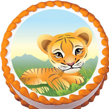 Load image into Gallery viewer, Baby Tiger Edible Cake, Cupcake & Cookie Topper - Trish Gayle