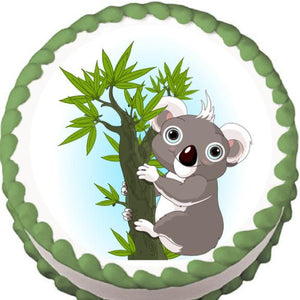 Koala Edible Cake, Cupcake & Cookie Topper - Trish Gayle