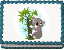 Load image into Gallery viewer, Koala Edible Cake, Cupcake & Cookie Topper - Trish Gayle