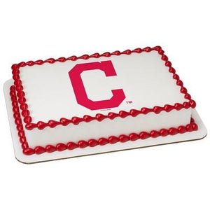 Cleveland Indians Logo Edible Cake, Cupcake & Cookie Topper - Trish Gayle
