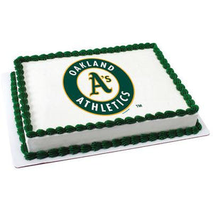 Oakland Athletics Logo Edible Cake, Cupcake & Cookie Topper - Trish Gayle