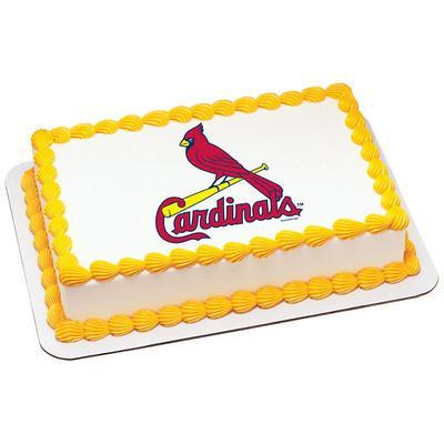 Saint Louis Cardinals MLB Edible Cake, Cupcake & Cookie Topper