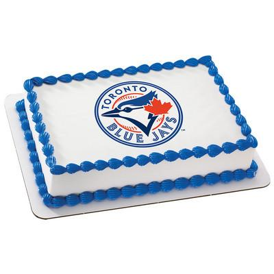 Toronto Blue Jays MLB Edible Cake, Cupcake & Cookie Topper