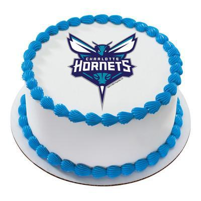 Charlotte Hornets Logo Edible Cake, Cupcake & Cookie Topper - Trish Gayle