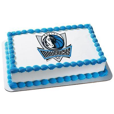 Dallas Mavericks Logo Edible Cake, Cupcake & Cookie Topper - Trish Gayle