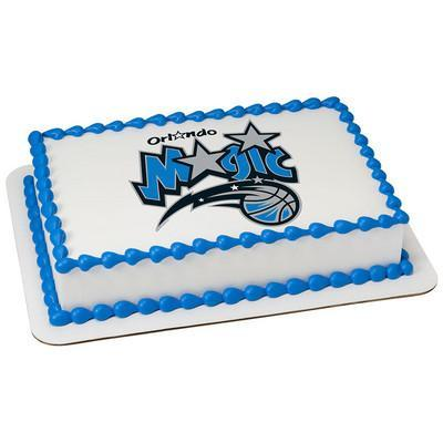 Orlando Magic Logo Edible Cake, Cupcake & Cookie Topper - Trish Gayle