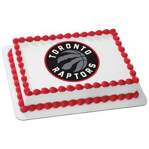 Toronto Raptors Logo Edible Cake, Cupcake & Cookie Topper - Trish Gayle