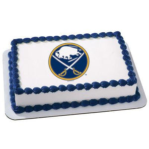 Buffalo Sabres Logo Edible Cake, Cupcake & Cookie Topper - Trish Gayle