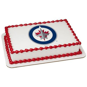 Winnipeg Jets Logo Edible Cake, Cupcake & Cookie Topper - Trish Gayle