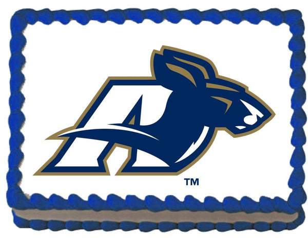 Akron Zips Edible Cake, Cupcake & Cookie Topper - Trish Gayle