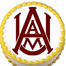 Load image into Gallery viewer, Alabama A&M Edible Cake, Cupcake & Cookie Topper - Trish Gayle
