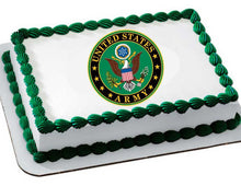 Load image into Gallery viewer, Army Edible Cake, Cupcake & Cookie Topper - Trish Gayle