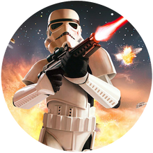Load image into Gallery viewer, Star Wars Battlefront Trooper Edible Cake Topper - Trish Gayle