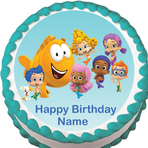Bubble Guppies Edible Cake Topper - Trish Gayle