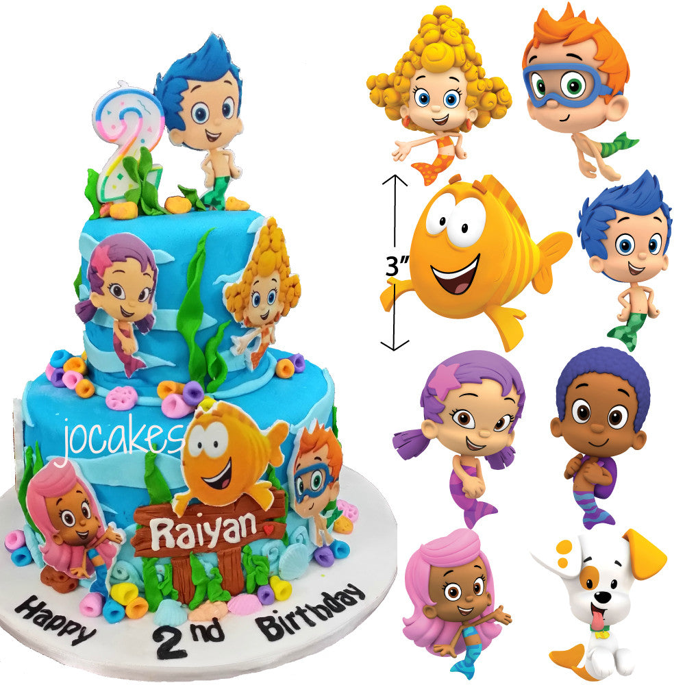 Bubble Guppies Edible Characters