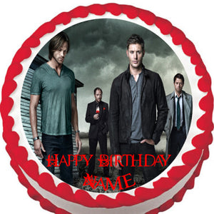Supernatural The Good & Evil Edible Cake Topper - Trish Gayle
