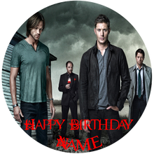Load image into Gallery viewer, Supernatural The Good & Evil Edible Cake Topper - Trish Gayle