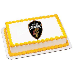 Cleveland Cavaliers Logo Edible Cake, Cupcake & Cookie Topper - Trish Gayle