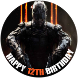 Call of Duty Black Ops 3 Edible Cake Topper - Trish Gayle