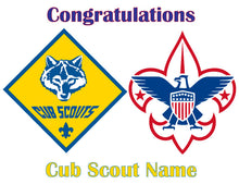 Load image into Gallery viewer, Cub Scouts Boy Scouts Edible Cake Topper - Trish Gayle