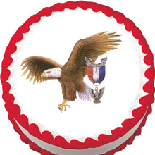 Load image into Gallery viewer, Boy Scouts American Eagle Edible Cake Topper - Trish Gayle