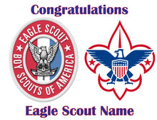Load image into Gallery viewer, Eagle Scout Boy Scouts Edible Cake Topper - Trish Gayle