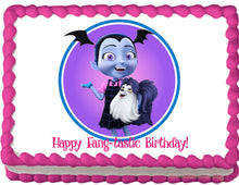 Load image into Gallery viewer, Vampirina Fang-tastic Edible Cake Topper - Trish Gayle