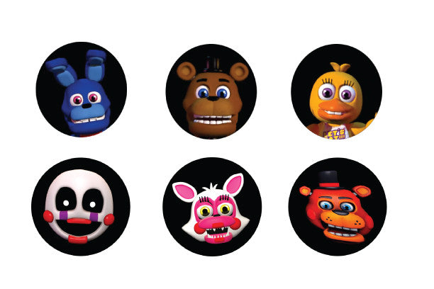 Fnaf Five Nights At Freddy S World Edible Cupcake Cookie
