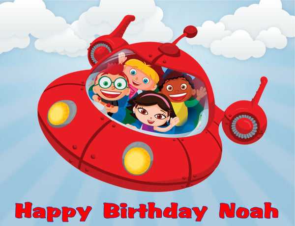 Little Einsteins Edible Cake Topper - Trish Gayle
