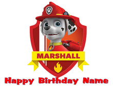 Load image into Gallery viewer, Paw Patrol Favorite Character Edible Cake Topper - Trish Gayle
