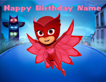 Load image into Gallery viewer, PJ Masks Favorite Character Edible Cake Topper - Trish Gayle