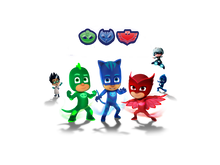 Load image into Gallery viewer, PJ Masks Edible Cake Topper - Trish Gayle