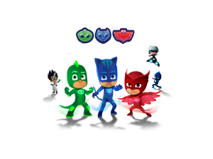 PJ Masks Edible Cake Topper - Trish Gayle