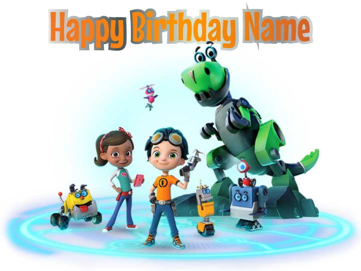 Rusty Rivets Edible Cake, Cupcake & Cookie Topper - Trish Gayle