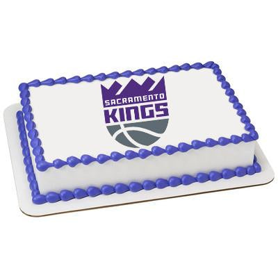 Sacramento Kings Logo Edible Cake, Cupcake & Cookie Topper - Trish Gayle