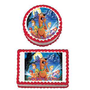 Scooby Doo Edible Cake & Cookie Topper - Trish Gayle