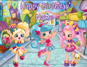 Shopkins Shoppies Season 1 Edible Cake Topper - Trish Gayle