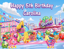 Load image into Gallery viewer, Shopkins World Edible Cake Topper - Trish Gayle