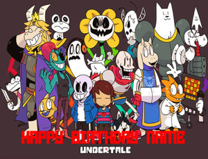 Undertale Gang 1 Edible Cake Topper - Trish Gayle