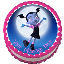 Load image into Gallery viewer, Vampirina Under the Moon Edible Cake Topper - Trish Gayle
