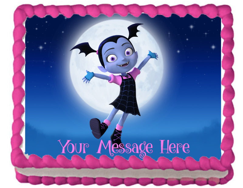 Vampirina Under The Moon Edible Cake Topper Trish Gayle