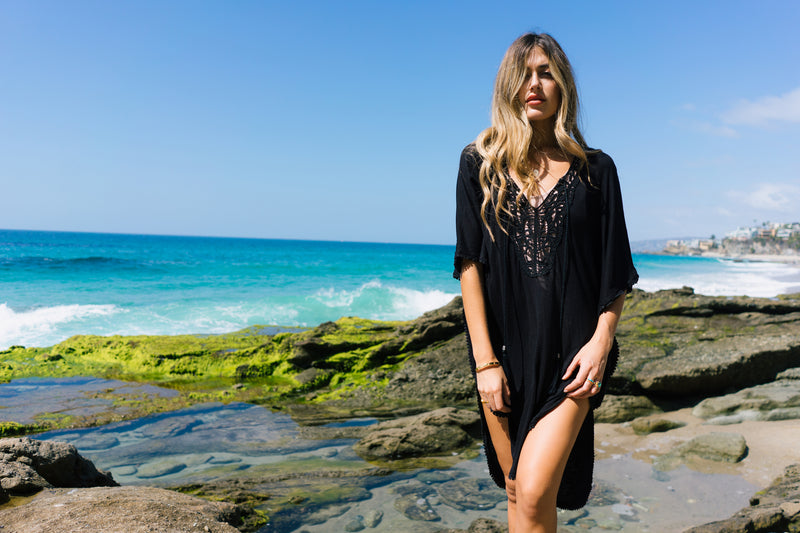 Our Laguna Beach Shoot With Hanna Montazami