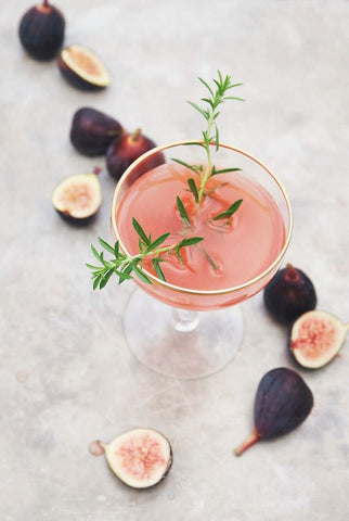 Fig and Time Cocktail