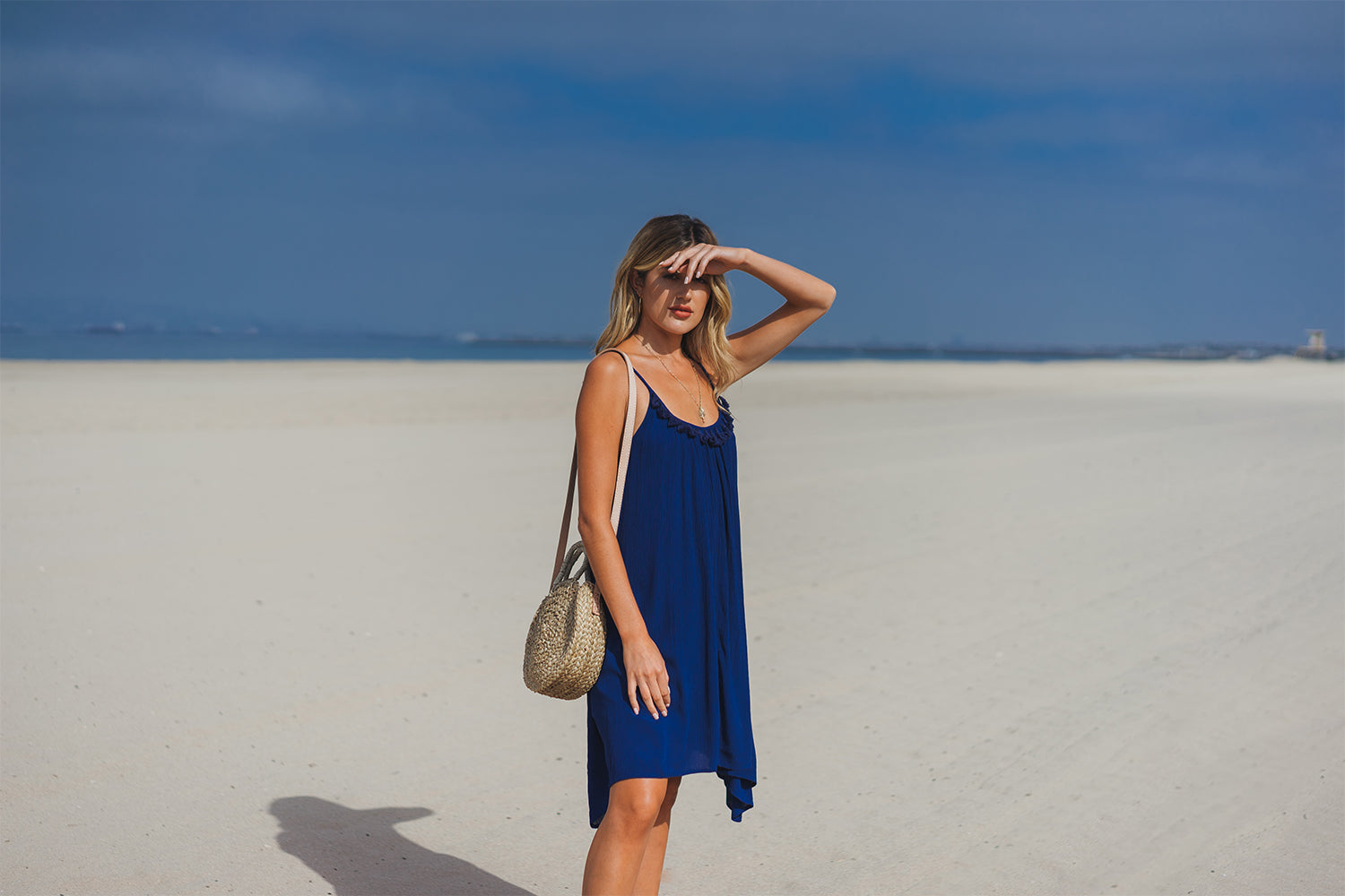 Miami Spaghetti Strap Dress